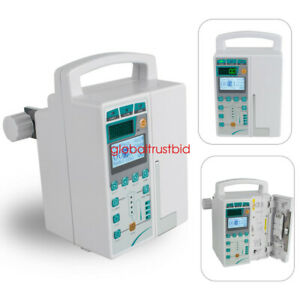 2set Fda Infusion Pump Lcd Monitor Iv Fluid Equipment Audible Visual Alarm kvo