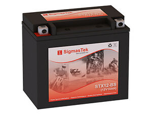 Replacement Battery Compatible With Ytx12 bs High Performance Maintenance Free