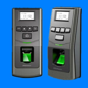 Zk F6 Fingerprint Standalone Access Control And Time Attendance Rs485 Sd Card