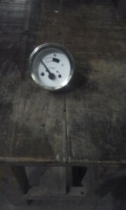 2 Inch Water Temp Gauge Meter Vintage Stewart Warner C h Classic Car Chrome Kit