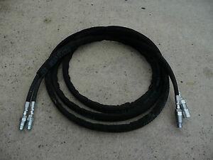 21 Foot Hydraulic Hose Extension For Tractor Loader Attachments Free Shipping