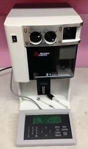 Beckman Coulter Z1 S Particle Counter Z1s With Keyboard Controller
