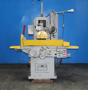 10 X 26 Gallmeyer Livingston 350 Automatic Surface Grinder