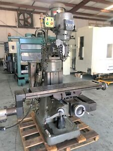 1993 Bridgeport Ez Trak Sx Manual Knee Mill 112174