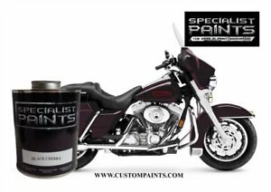 Harley Davidson Black Cherry Paint Code Ex60839 Urethane Based Motorcycle