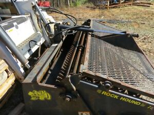 Rock Hound Landscape Rake Bobcat Skid Steer Attachment