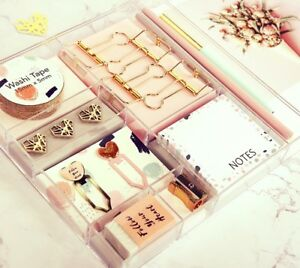 Set Band Clips Memo Pencil Bookmark Office Accessories Gift Box Packing School
