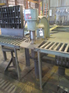 90 Ton Whitney Mdl 791 0001 Hydraulic Portable C Frame Plate Punch Fabricating