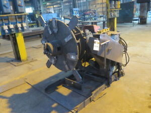 2 500 Lb Ransome Mdl 25 p Welding Positioner