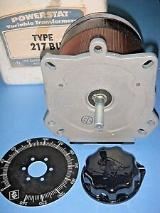 Superior Electric 217bu Powerstat Variable Transformer 240v 1 Phase 3 5a Nos