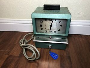 Acroprint Time Recorder Time Clock Model 125nr4