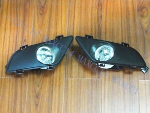 Kit For Mazda6 2003 2005 Fog Lights Light Lamps Cover Grilles Kit New