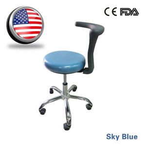 Mobile Dental Stools Medical Chair Pu Leather For Doctor Nurse Assistant