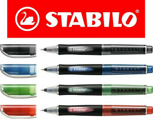 Stabilo Bionic Rollerball Pen All Colours Refills Multi Packs Available