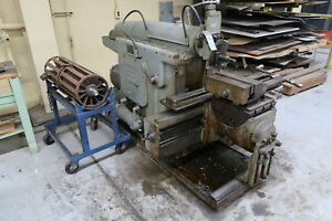 26 Stroke Rockford 24 Hydraulic Horizontal Shaper Linear Metal Cutter