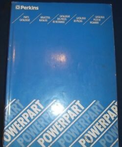 Perkins Engine Powerpart Parts Manual Book Catalog