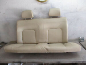Rear Back Seat Leather Vw New Beetle Bug 06 07 08 09 10