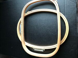 Melco Emc Embroidery Hoops 2 Oval 16 1 2 X 11 1 2 x 5 8 161 2 X 12 X 5 8 Rect