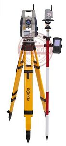 Sokkia Srx5 Prismless Robotic Total Station Package Topcon Trimble Leica