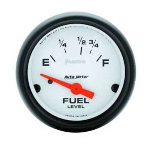 Auto Meter 2 1 16in Phantom Fuel Level Gauge