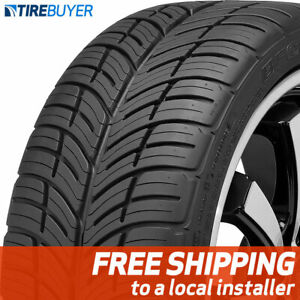 1 New 255 40zr17 94w Bf Goodrich G force Comp 2 As 255 40 17 Tire A s