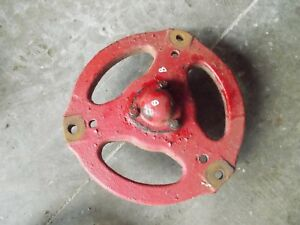 Farmall A Sa Tractor Ih Front Hub Eyelet Mount Style Complete W Ih Hub Cap