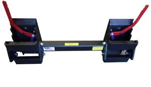 Skid Steer Universal Hitch Adapter W 3 Rollback Settings 8295