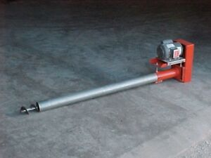 E8 Bulk Tank Auger Screw Conveyor 22 Long