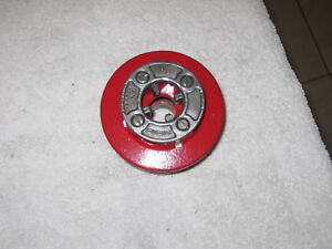 Genuine Ridgid 12 R Pipe Threader Die Head 1 2 Npt Complete Old Style Head