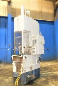 10 Ton X 36 Stroke Colonial Vbs 10 36 Vertical Hydraulic Broaching Machine