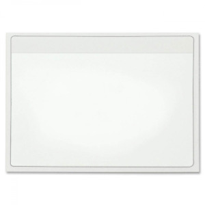 Cardinal Holdit Self adhesive 4 X 6 inch Index Card Pockets Clear 100 Per Pac