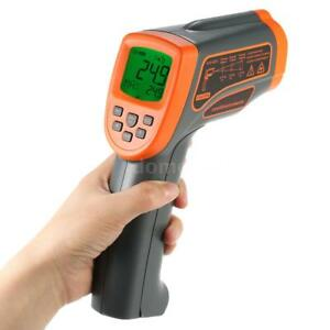 Portable Digital Infrared Thermometer Temperature Tester Meter Pyrometer V9l0
