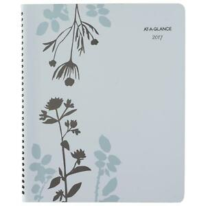 At a glance Weekly Monthly Appointment Book Planner 2017 8 1 2 X 11
