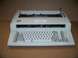 Ibm Personal Wheelwriter Electric Typewriter For Parts Has Issues No Returns