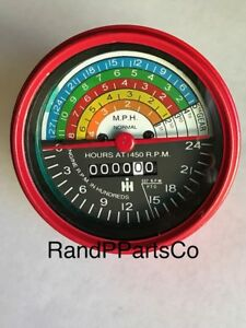 Blemished Paint Tachometer For Farmall Ih 400 450 W400 W450 Diesel Acw 364395r91