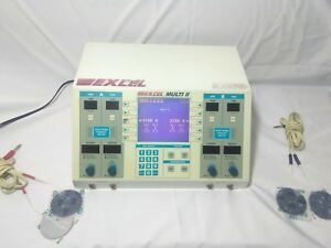 Excel Tech Excel Multi Iii Mu 4 Ultrasound Therapy Unit