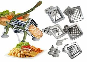 Tigerchef Commercial French Fry Cutter Heavy Duty Grade French Fry Cutter With