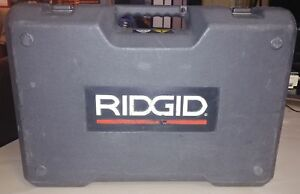 Ridgid 43353 Rp 340 Battery Press Tool Kit With Propress Jaws 1 2 inch 1 inch