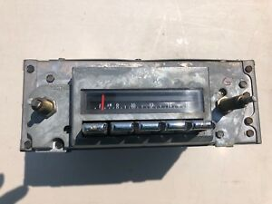 69 70 71 72 Gto Lemans Grand Prix J Sj Hurst Delco Am Fm Stereo Radio Serviced