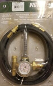 Victor Hrf1425 580 Regulator Flowmeter With Hose Nib 0781 2743