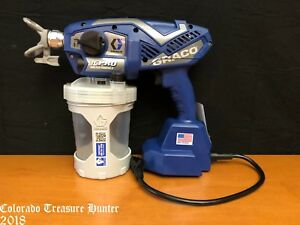 Graco 17n163 Tc Pro Electric Handheld Airless Paint Sprayer