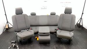 2008 Dodge Ram Pickup 1500 Lh Rh Front Split Bench Seats Rear Seats Cloth
