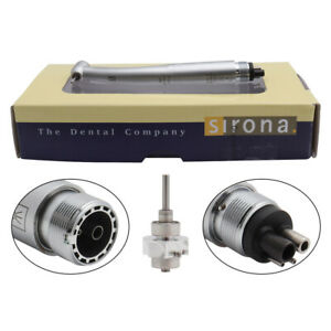 Sirona T3 Racer Dental High Speed Handpieces Triple Water Standard Push 2 4holes