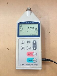 Ono Sokki La 120 Sound Level Meter