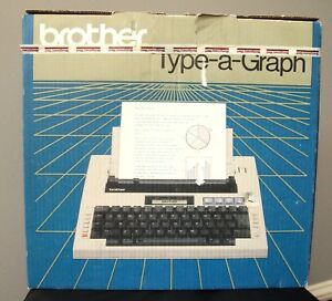 Brother Type a graph Bp 30 Electronic Typewriter Tested Working