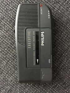 Philips Executive Professional Pocket Memo 494 Tested Working