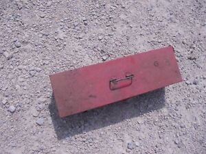 John Deere Jd Ford Ih Tractor Universal Side Mount Removable Tool Box W Lid