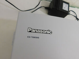 Panasonic Kx taw848 Advanced Hybrid Wired Wireless Office Telephone Pbx System