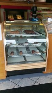 Pastry Donut Bakery Display Case
