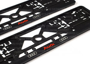 Audi Logo Auto Frames Euro For License Plates License Plate Frames For All Audi